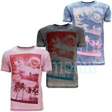 Soulstar Arrived Hawaii Graphic T-Shirt Top  Mens Size