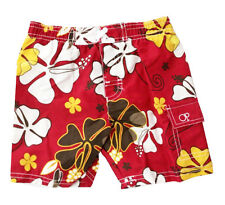 Infant Baby Boys Swimwear Flower Beach Swim Trunk UPF 50+ Bottoms Bathing
