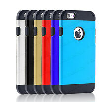 Slim Armor Shock Proof TPU Hard Case Cover For Apple iPhone 4 4S Smart Phone