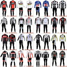 New Cycling Bike Bicycle Clothing Long Sleeve Jersey Shirt Pants Set MC0013