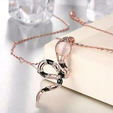 Viennois Cute Lovely Rhinestone Pendant Necklace Womens Fashion Jewelry L5J8