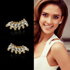 Women Lady Girls Crystal Rhinestone Earring Charm Ear Stud Earrings Elegant