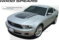 Center Hood & Spears Stripes Decal 3M Vinyl Graphics fits 2010-2012 Ford Mustang