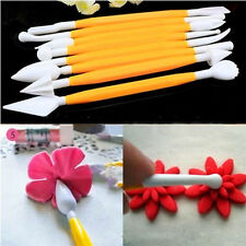 8pcs Cute Fondant Craft Cake Decorating Flower Modelling Sugarcraft Tool Cutter