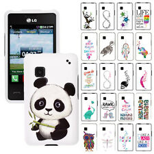 For LG 840G Phone Various Design SNAP ON Hard Protector Case Cover
