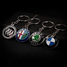 Premium Deluxe Logo Gift Box New Car Emblem Automotive Keyring Many Brands