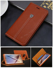 Luxury Magnetic Cover Leather Case For Samsung galaxy S4 S5 S6 S7 edge Note 7 5