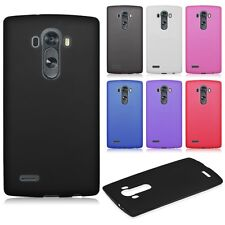 Fashion Ultra Slim Matte Frosted Soft TPU Rubber Back Case Cover Skin for LG G4