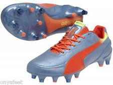 MENS PUMA EVOSPEED 1.2 MIXED SOFT GROUND MENS INDOOR FUTSAL FOOTBALL BOOTS SHOES