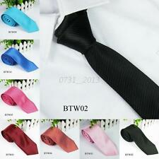 Fashion Striped Tie Jacquard Woven Men's Gentleman Soft Silk Suits Ties Necktie