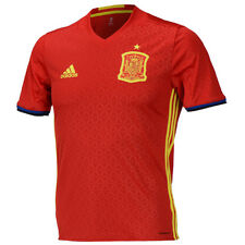 Adidas 2016-17 Spain ESPANA Home Soccer Football Jersey Training  Shirts AI4411