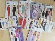 Butterick - Long and Short Dresses (Evening & Day) Sewing Patterns   (1998-2008)
