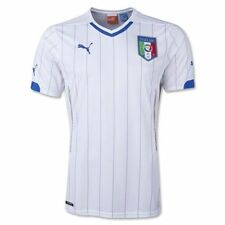 NEW PUMA Youth Italy Italia Away Soccer Football Jersey White $75