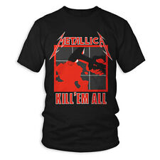 SALE Licensed Metallica Kill Em All Double-Side T-Shirt - Free Postage
