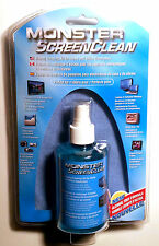 Monster Screen Clean Display Cleaning Kit For Flatscreen TV, LCD and Laptops