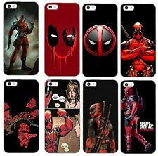 Deadpool marvel dc comic hard back phone case for iphone samsung i4 i5 i6 s6 m8