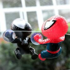 3D Lovely Type Spider Man Suction Cup Doll Car Display Window Mirror Dashboard