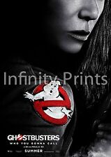 Ghostbusters 2016 Movie Film Poster C A2 A3 A4