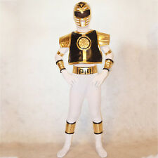 New Boys Mighty Morphin Power Rangers Dino kids cosplay child Halloween Zentai