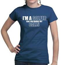 I'm a Golfer Golf Club Driver Left Right Handed Ladies T shirt - Tee Top T-shirt