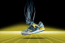 Mens Saucony Grid SD Games Pack Yellow Grey Blue Casual Shoes S70164-4 SIZE 7-10