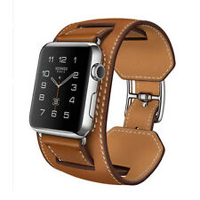 Genuine Leather Buckle Wrist Watch Band Strap Belt for iWatch Apple Watch 2 Size