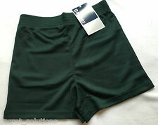 NEW Banner 'Bowden' 2311 School PE Games Sports Shorts Bottle Green Boys Girls