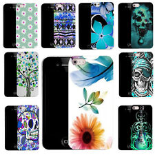 pictured gel case cover for apple iphone 4 mobiles z68 ref