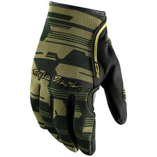 Troy Lee Designs NEW 2016 Mx XC Dirt Bike BMX MTB Green Camo Motocross Gloves