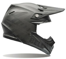 Bell Moto 9 Flex Carbon Fiber Syndrome Matte Black Dirt Bike MX Motocross Helmet