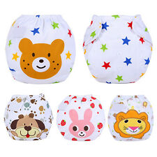 U Baby Infant Reusable Washable Cloth Diaper Kids Nappy Cover Adjustable Diapers