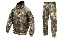 Men's Cold Bay Rain Gear RealTree Xtra Jacket & Pants Set Hunting Hiking Camping