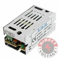 AC-DC 12V 15W 1.25A Universal Regulated Switching Power Supply LED Driver