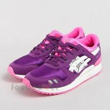 Shoes Asics Gel Lyte III PS C5A5N 3301 Kid's running Purple White Fashion Moda
