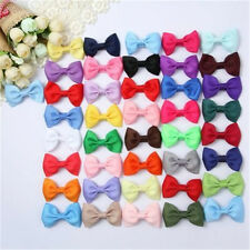 "41pcs 2.5"" Hair Bows Boutique Girls Baby Grosgrain Ribbon Alligator Clip Mixed"