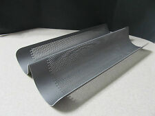 Williams Sonoma Non Stick Double Loaf French Bread Pan Excellent Condition!
