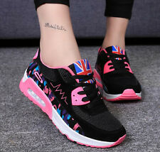 New Women's Fashion Athletics Breathable Casual Running Lace Up Sport Shoes