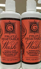 Trader Joe's Fruit & Vegetable Wash Removes Wax Pesticides Chemicals Non Toxic