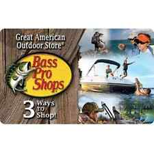 Bass Pro Shops®  Gift Card - $25 $50 or $100 - Fast Email delivery