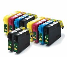 2 Sets Compatible (non-OEM) Ink Cartridges with extra BK to replace T1285 T1281