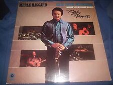 "MERLE HAGGARD SIGNED ALBUM TITLED ""OKIE FROM MUSKOGEE"" WOW AWESOME! L@@K PROOF!"