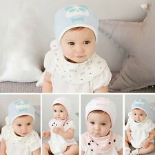 Cute Cotton Newborn Kids Baby Boy Girl Infant Toddler Soft Hat Cap Unisex
