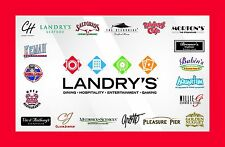 Landry's Seafood House Gift Card $50/ $75/ $100 US Mail Delivery