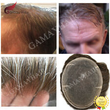 Full Swiss Lace Mens Toupee All Lace Hairpiece Hair Replacement Indian Remy Hair