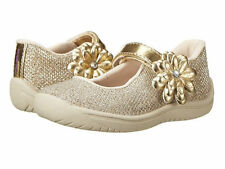 Baby Girls Toddler Shoes Kids Haylie Gold Silver Mary Jane Sneakers Sandal Shoe