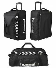 HUMMEL AUTHENTIC TEAM TROLLEY S M L NEW 100€ traveling gym bag valise suitcase