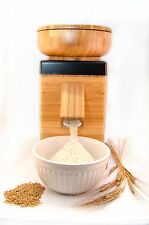 NutriMill Harvest Stone Grain Mill- Solid Bamboo Case