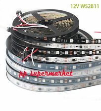 WS2811 5050 RGB LED Strip 5M 150 300 450Leds Addressable DC12V IP60 IP67