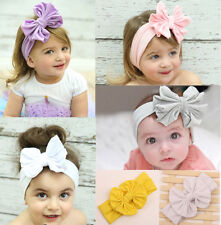 Wow 1pcs Cute Kids Girls Baby Toddler Flower Bow Headband Hair Band Headwear