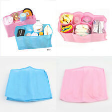 1Pc Baby Portable Diaper Water Bottle Changing Divider Travel Organ Storage Bag